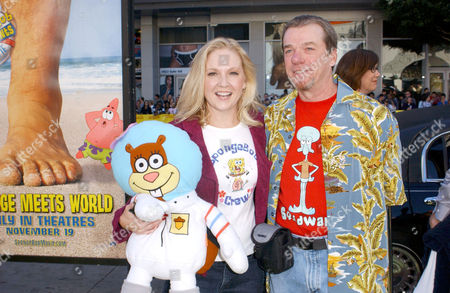 Carolyn Lawrence (Sandy) & Rodger Bumpass (Squidward)