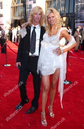 Duff McKagen and Susan Holmes