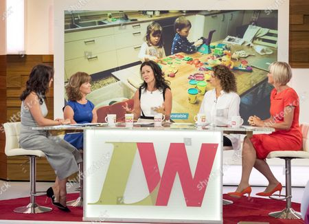 Andrea McLean, Sam Davis, Kim Constable, Nadia Sawalha and Jane Moore.
