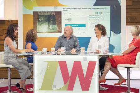 Andrea McLean, Sam Davis, Bill Bailey, Nadia Sawalha and Jane Moore.
