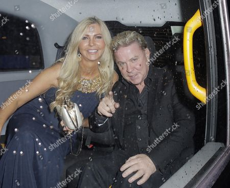 Editorial photo of David Van Day and Sue Moxley out and about in London, Britain - 02 Sep 2015