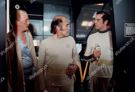 Jeremy Kemp, Barry Morse and Martin Landau