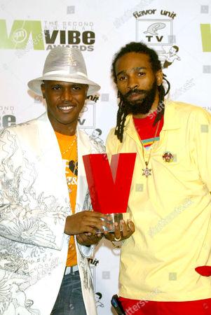 Editorial image of THE VIBE AWARDS, SANTA MONICA, AMERICA - 15 NOV 2004