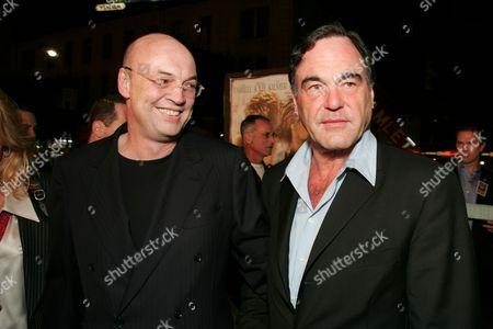 Moritz Borman and Oliver Stone