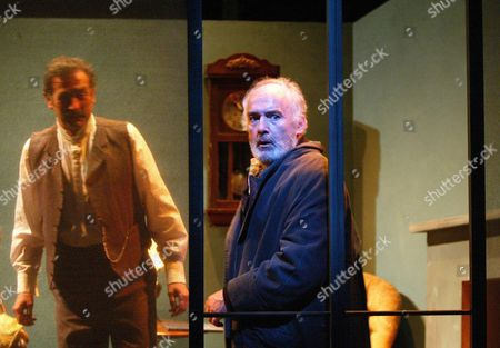 Sean Campion (Father), Pip Donaghy (The Old Man), 'Direct Action - Interior', Young Vic