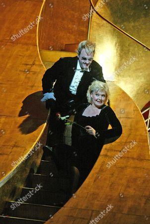 Karita Mattila (Arabella), John Daszak (Count Elmer), 'Arabella', Royal Opera House