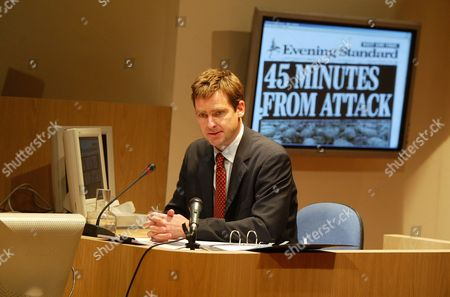 David Michaels (Alastair Campbell), Justifying War Scenes from the Hutton Inquiry, Tricycle Theatre, Britain