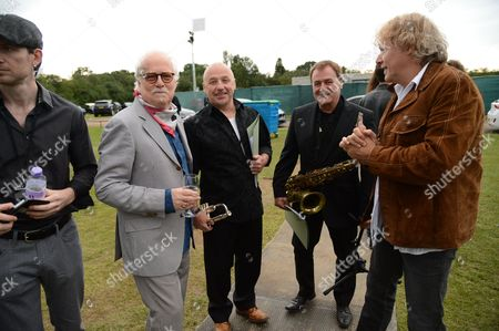 Stock Photo of Guest, Jim Cregan, John Thirkell, Mick Donnely, Jamie Moses