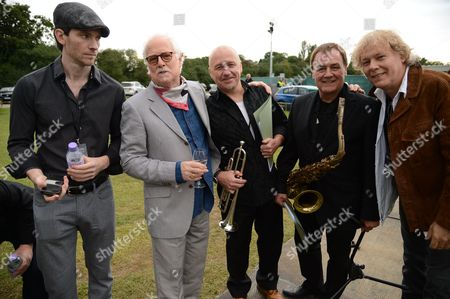 Stock Picture of Guest, Jim Cregan, John Thirkell, Mick Donnely, Jamie Moses