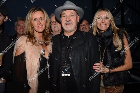 Stock Photo of Paul Carrack with Zoe Nicholas and Susie Webb