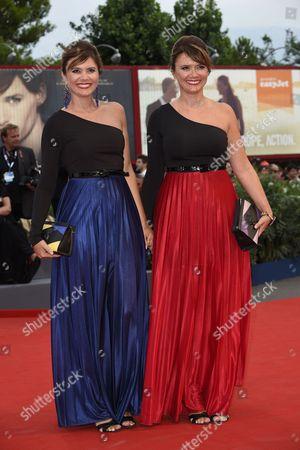 Stock Picture of Silvia and Laura Squizzato