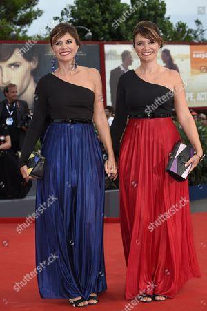 Stock Photo of Silvia and Laura Squizzato