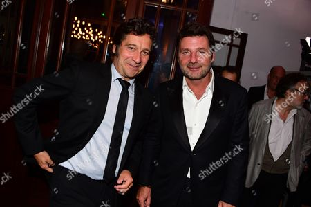 Laurent Gerra and Philippe Lellouche
