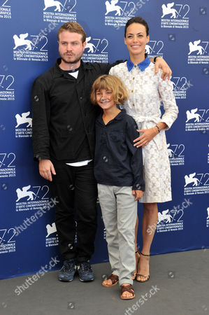 Brady Corbet, Tom Sweet, Berenice Bejo