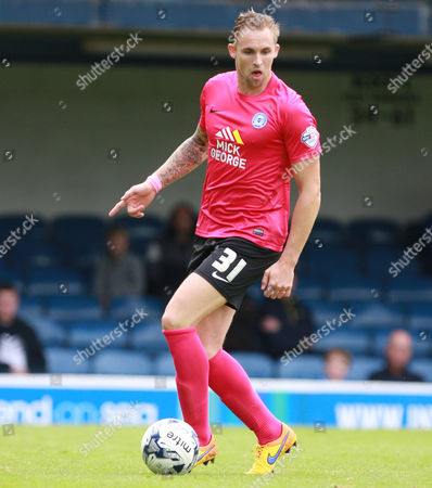 Peterborough United player Jack Collison during the Sky Bet League 1 match between Southend United and Peterborough United at Roots Hall, Southend
