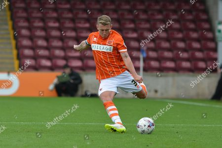 Editorial photo of Scunthorpe United v Blackpool, Sky Bet League 1 - 5 Sep 2015