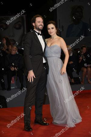 Stock Photo of Drake Doremus and Sasha Kozlov