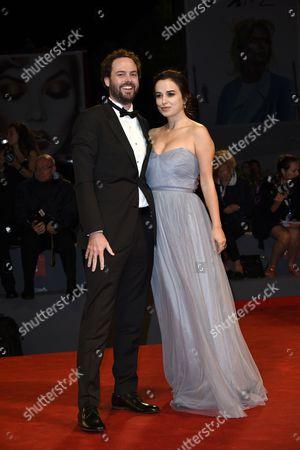Stock Picture of Drake Doremus and Sasha Kozlov
