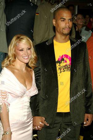 Anastacia and boyfriend Patrice Bouedibela