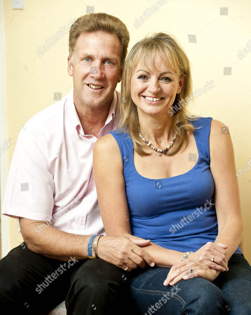 Former Cricketer Chris Broad And New His New Fiancee Rosemarie Macdonald. 28.8.14