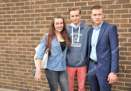 Harry Amelia, Nick Henderson & Joel Williams