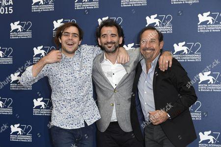Pablo Trapero, Guillermo Francella, Juan Lanzani