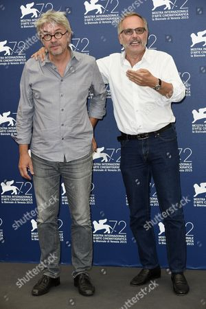 Christian Vincent with Fabrice Luchini