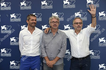 Editorial image of 'L'Hermine' film photocall, 72nd Venice Film Festival, Italy - 06 Sep 2015