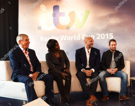 Sir Ian McGeechan Maggie Alfonsi Ben Kay and Shane Williams