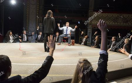 Editorial image of 'Future Conditional' Play performed at the Old Vic Theatre, London,UK, 4 Sep 2015