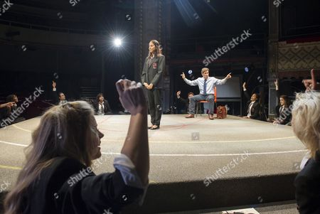 Editorial picture of 'Future Conditional' Play performed at the Old Vic Theatre, London,UK, 4 Sep 2015