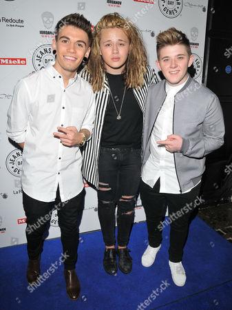Jake Sims, Luke Friend & Nicholas McDonald