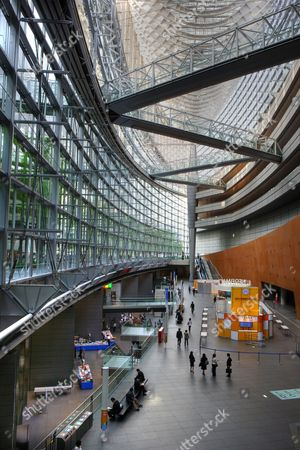 JPN, Japan, Tokyo: Tokyo International Forum, Congress center by architect Rafael Vinoly