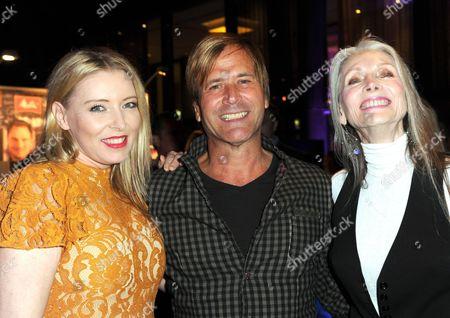 Sabrina Winter, Steve Norman (Spandau Ballet) and Eveline Hall