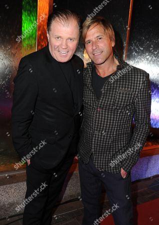 Rusty Egan and Steve Norman (Spandau Ballet)