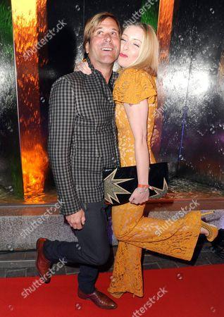 Steve Norman (Spandau Ballet) and Sabrina Winter