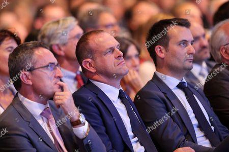 Stephane Ravier, Steeve Briois, Floriant Philippot