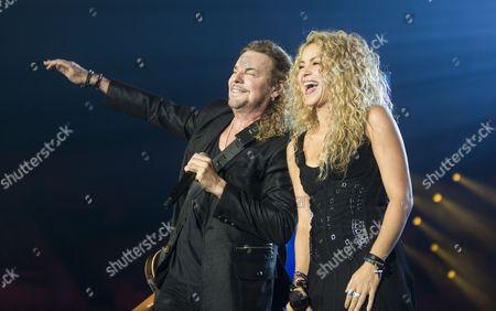 Stock Photo of Fernando Olvera, Shakira