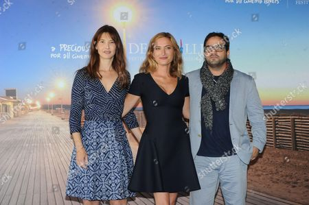 Alexia Landeau, Russell Steinberg and director Zoe Cassavetes
