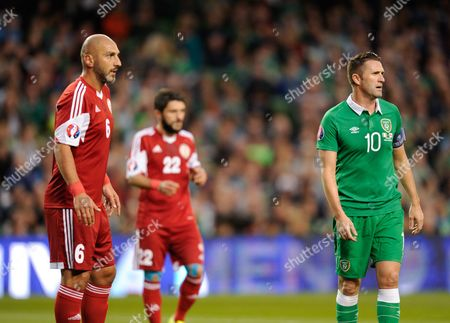 Editorial picture of 2016 UEFA European Championship Qualifying Group D Ireland v Georgia Aviva Stadium, Dublin, Ireland - 7 Sep 2015