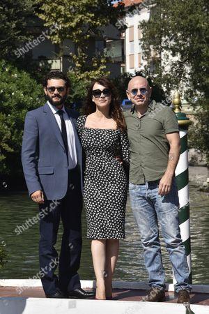 Vinicio Marchioni, Chiara Francini, Rolando Ravello