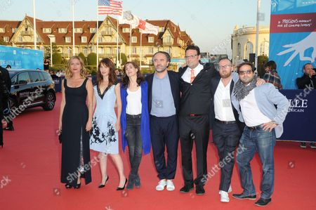 Zoe Cassavetes, Alexia Landeau, French musician of the Scratch Massive duo Maud Geffray, French producer Stephane Elfassi, US film editor Michael Mees, French musician of the Scratch Massive duo Sebastien Chenut and Russell Steinberg