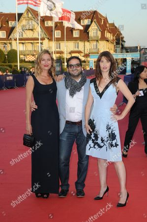 Zoe Cassavetes, Russell Steinberg and Alexia Landeau