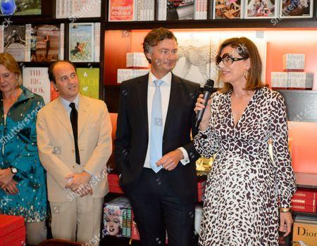 Laurent Feniou and Martine Assouline