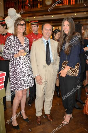 Martine Assouline, Prosper Assouline and Elizabeth Saltzman Walker