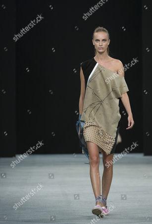 Editorial image of Gilles Ricart show, Spring Summer 2016, Madrid Fashion Week, Spain - 07 Sep 2015