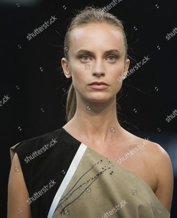 Editorial photo of Gilles Ricart show, Spring Summer 2016, Madrid Fashion Week, Spain - 07 Sep 2015