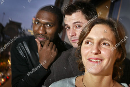 Kwame Kwei Armah, Matt Charman and Abigail Morris