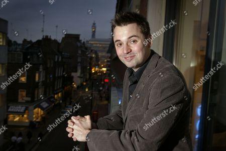 Matt Charman winner of ' A night at the Dogs'