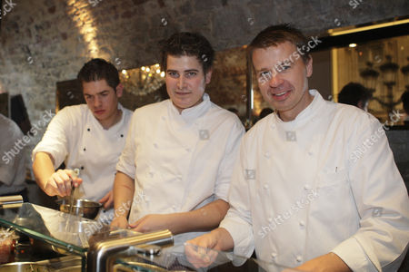Grandhotel Schloss Bensberg, festival of master chefs, star chef Joachim Wissler, Bergisch Gladbach-Bensberg, North Rhine-Westphalia, Germany